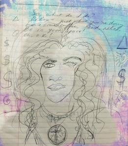 Maria Drawing Aug 21