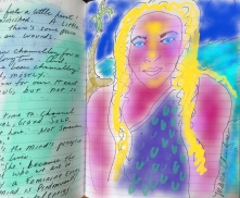 Journal art by Maria Chambers